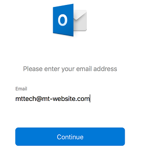 smtp server configuration in outlook email